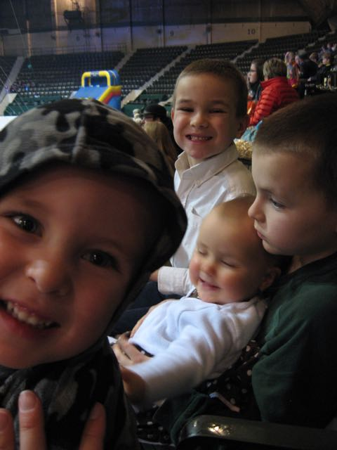 We went to the circus!