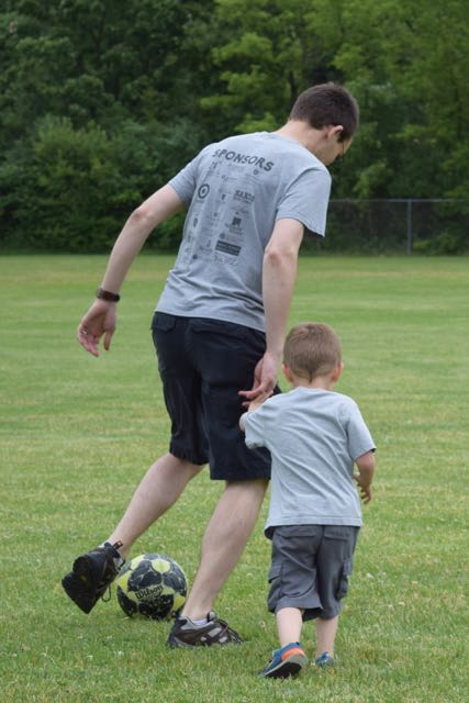 "Tad & Dad ""Soccer Camp"""