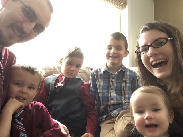 dressy family!