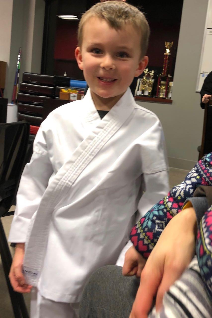 First Karate Class!
