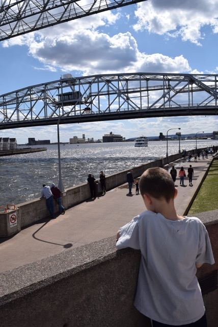 Canal and Lift Bridge, Duluth