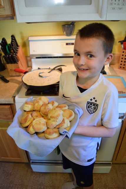 Micah's Biscuits (and Gravy)