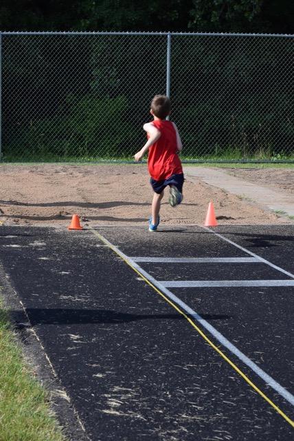 Micah at long jump