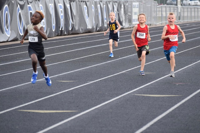 Fisher in the 100m