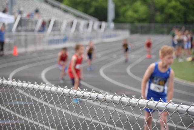 Fence (+Micah's 400m start)