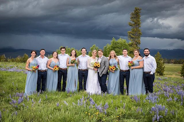 Proof that stormy days make for the BEST backdrops!
