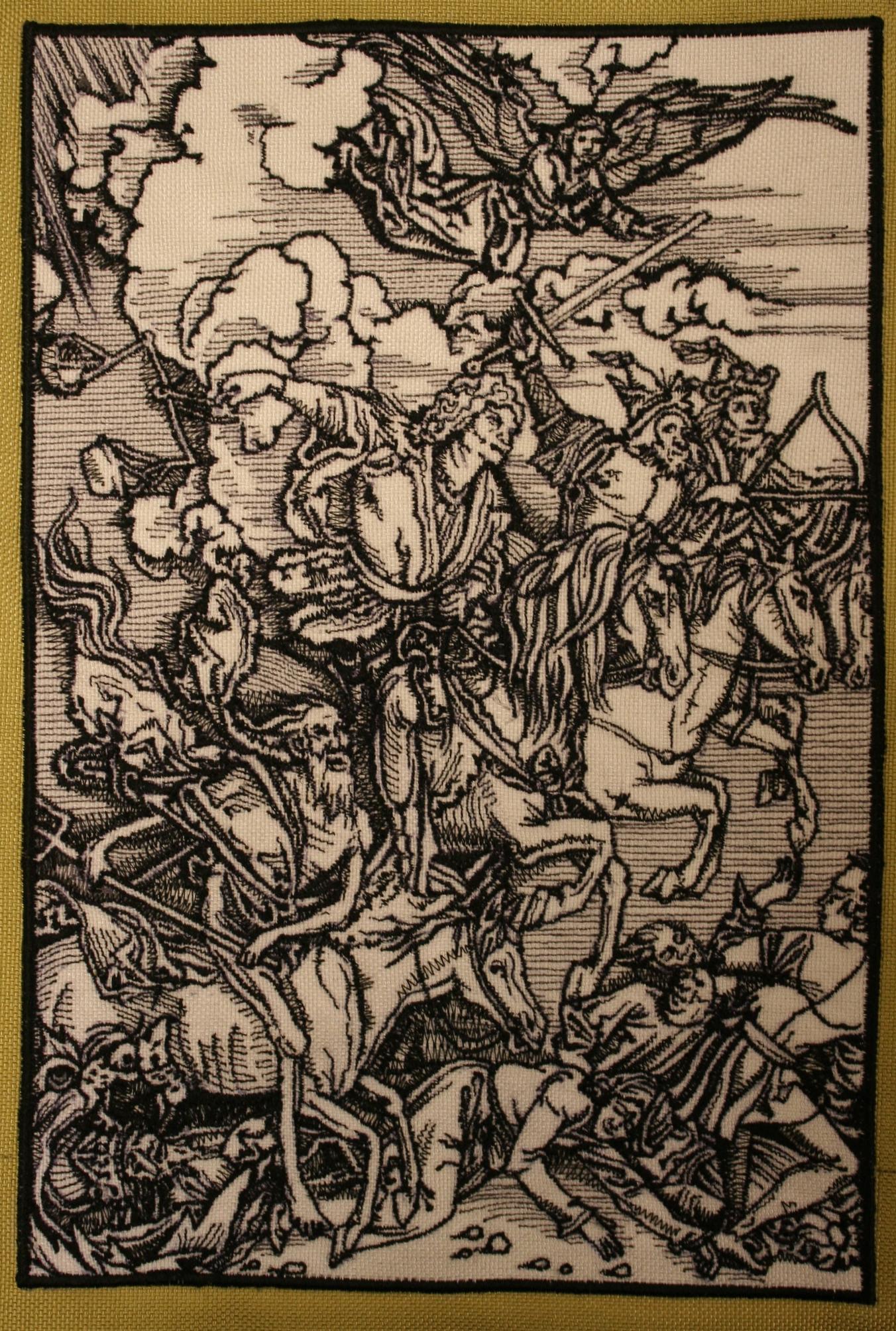Interpretation of Albrecht Durer's  Four Horsemen of the Apocalypse.