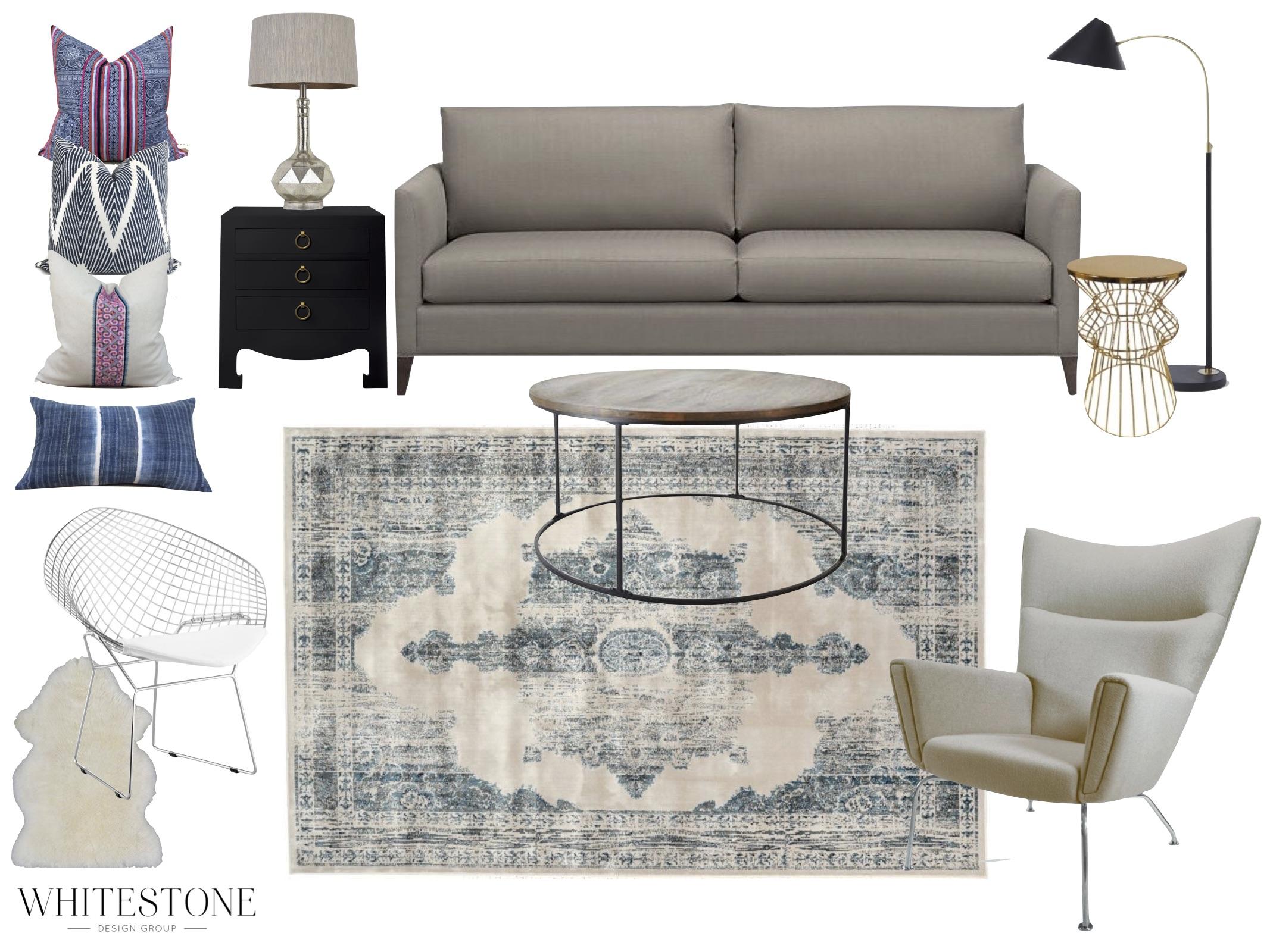 Whitestone Design Group   Design Plan   Katie's House   Interior Design   Seattle, WA