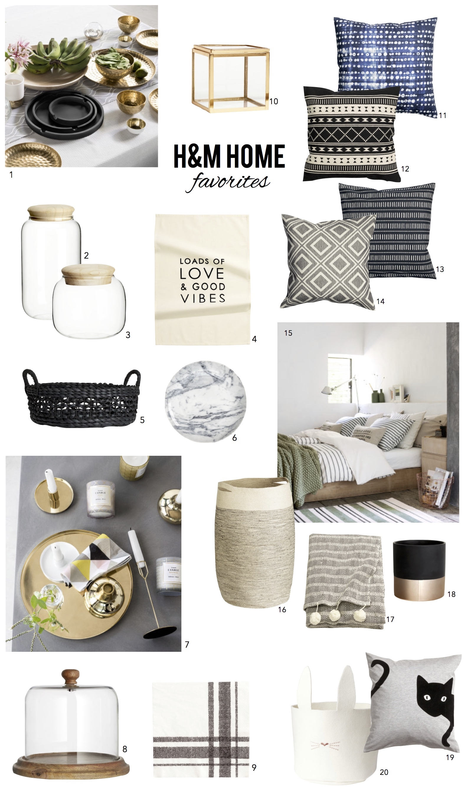 Top 20 H&M Home Favorites | Summer 2015 | Whitestone Style | Whitestone Design Group | Seattle