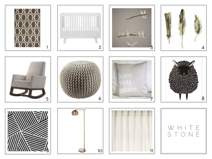 Whitestone Design Group | Gender Neutral Nursery | Baby Spaces
