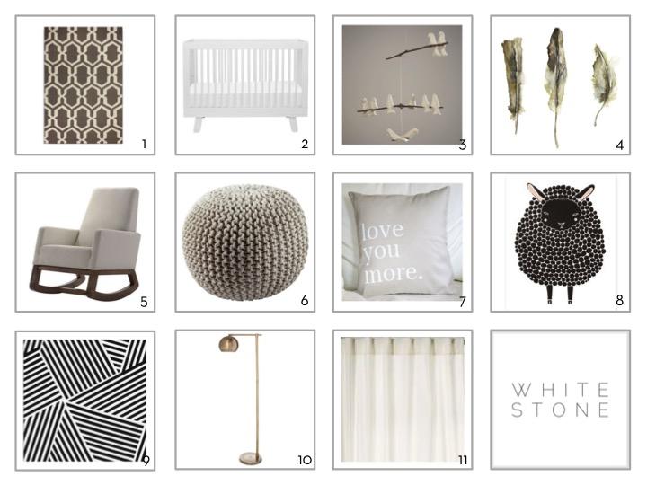 Whitestone Design Group | Gender Neutral Nursery | Baby Spaces