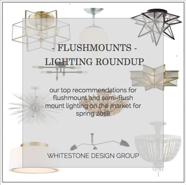 WSDG - Design Roundup | Flushmount Lighting | Blog