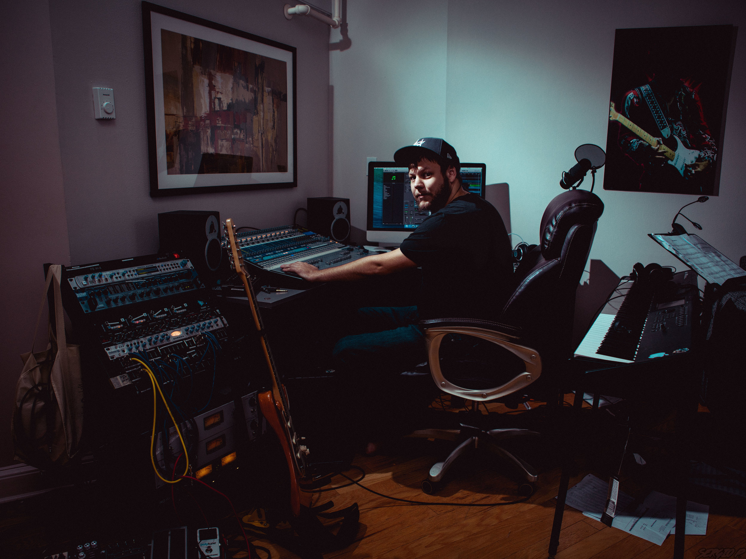 Mark MacDonald, Music Production