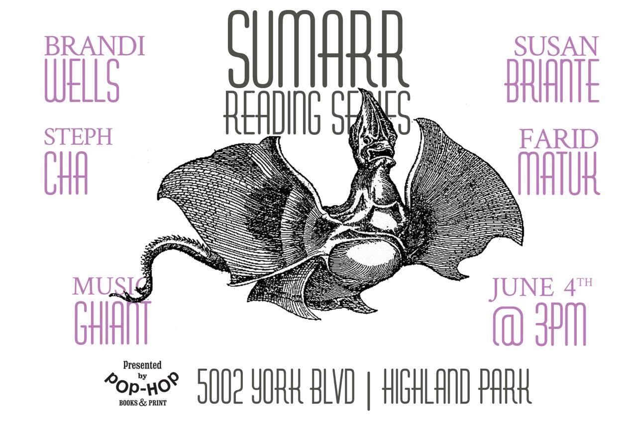 SUMARR: READING SERIES - 06/04/2017