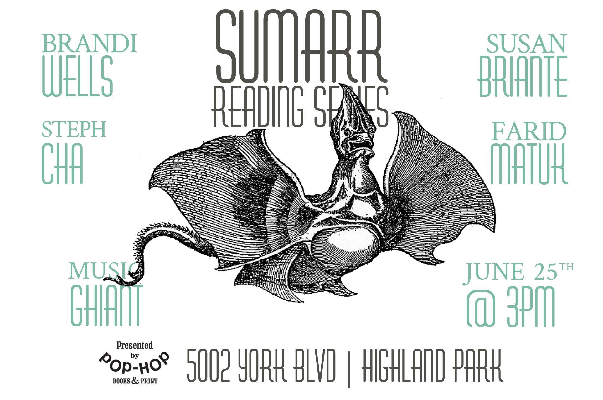 SUMARR: READING SERIES - 06/25/2017