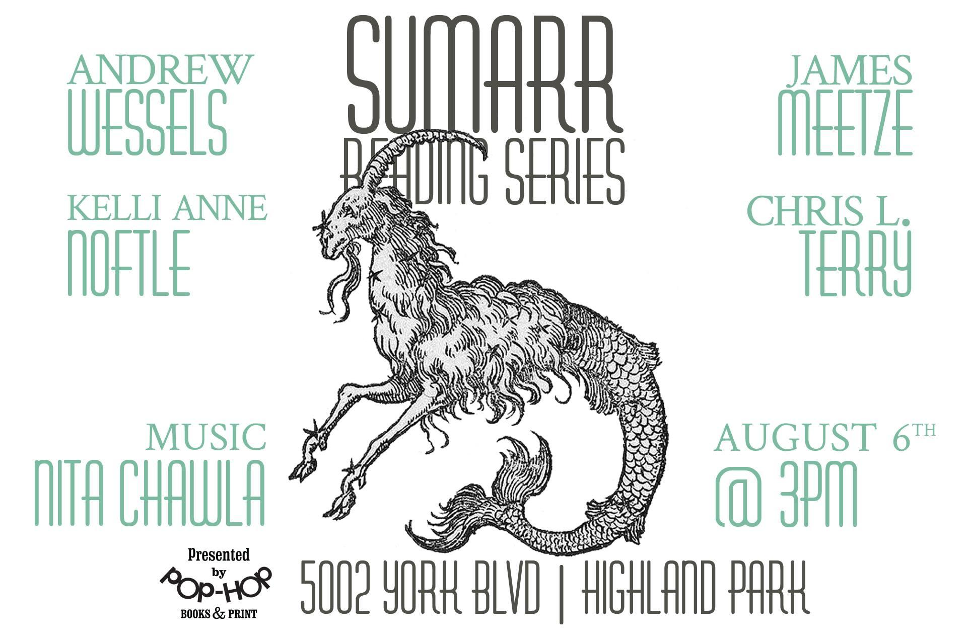 SUMARR: READING SERIES - 08/06/2017