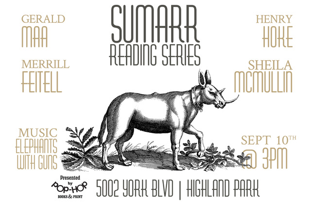 SUMARR: READING SERIES - 09/10/2017