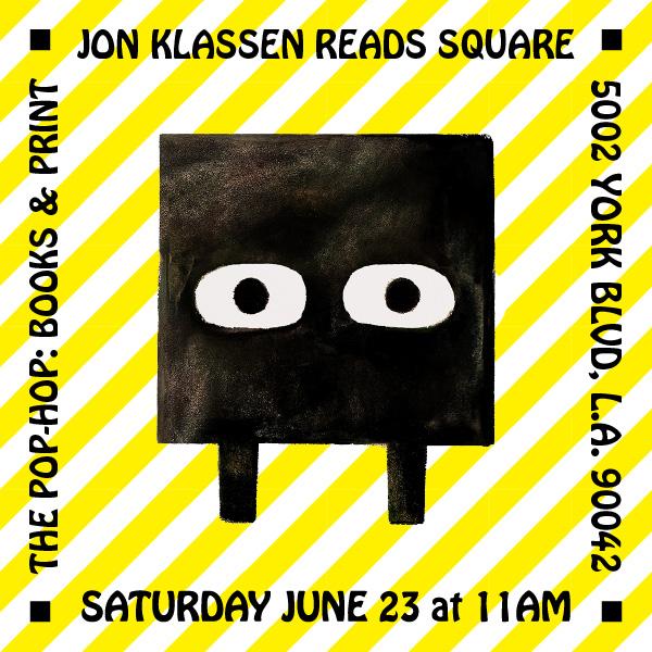 JON KLASSEN reads SQUARE - 06/23/2018