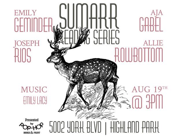 SUMARR III - READING SERIES - 08/19/18
