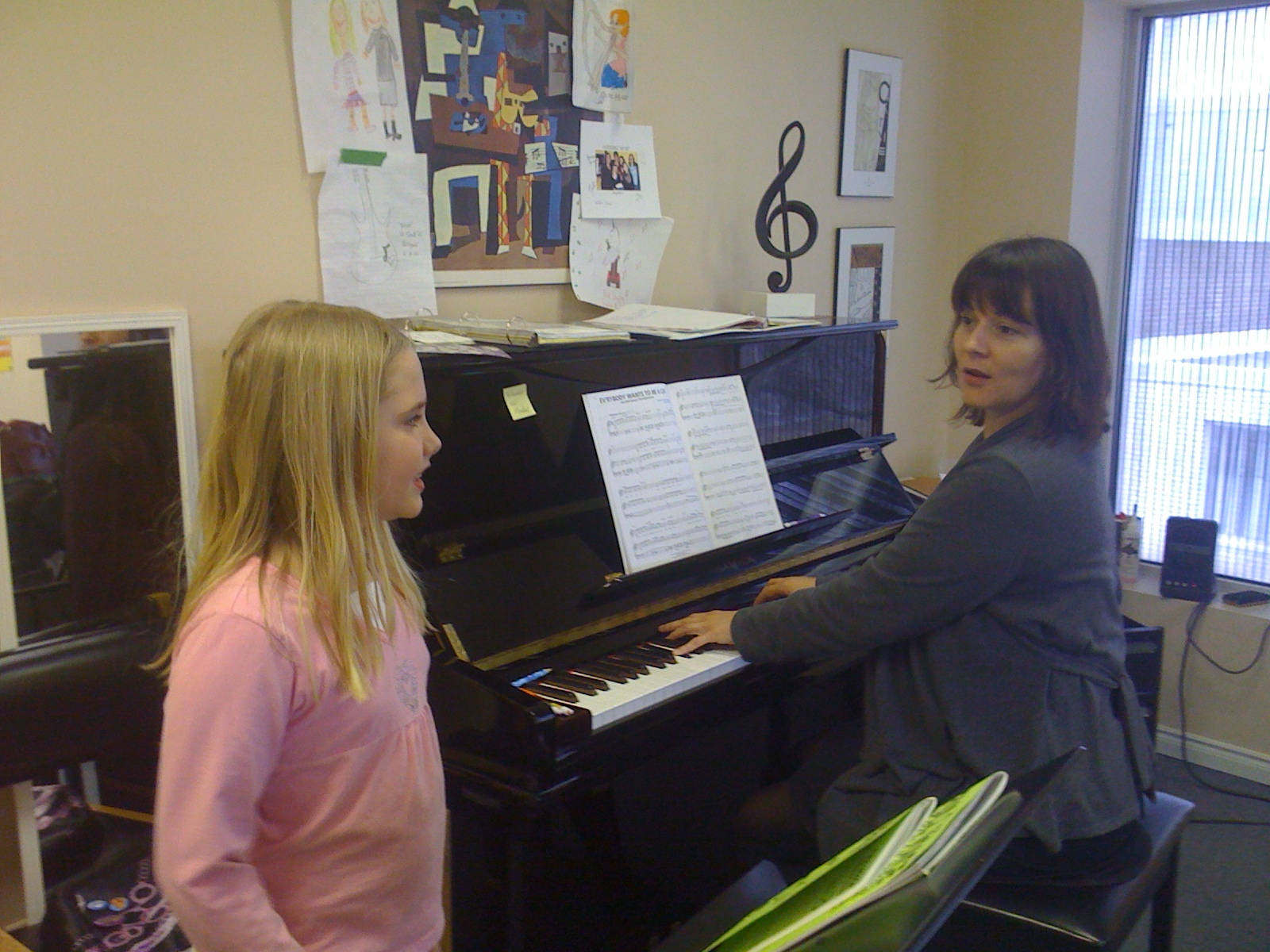 there is nothing more rewarding that helping young singers discover their voices!
