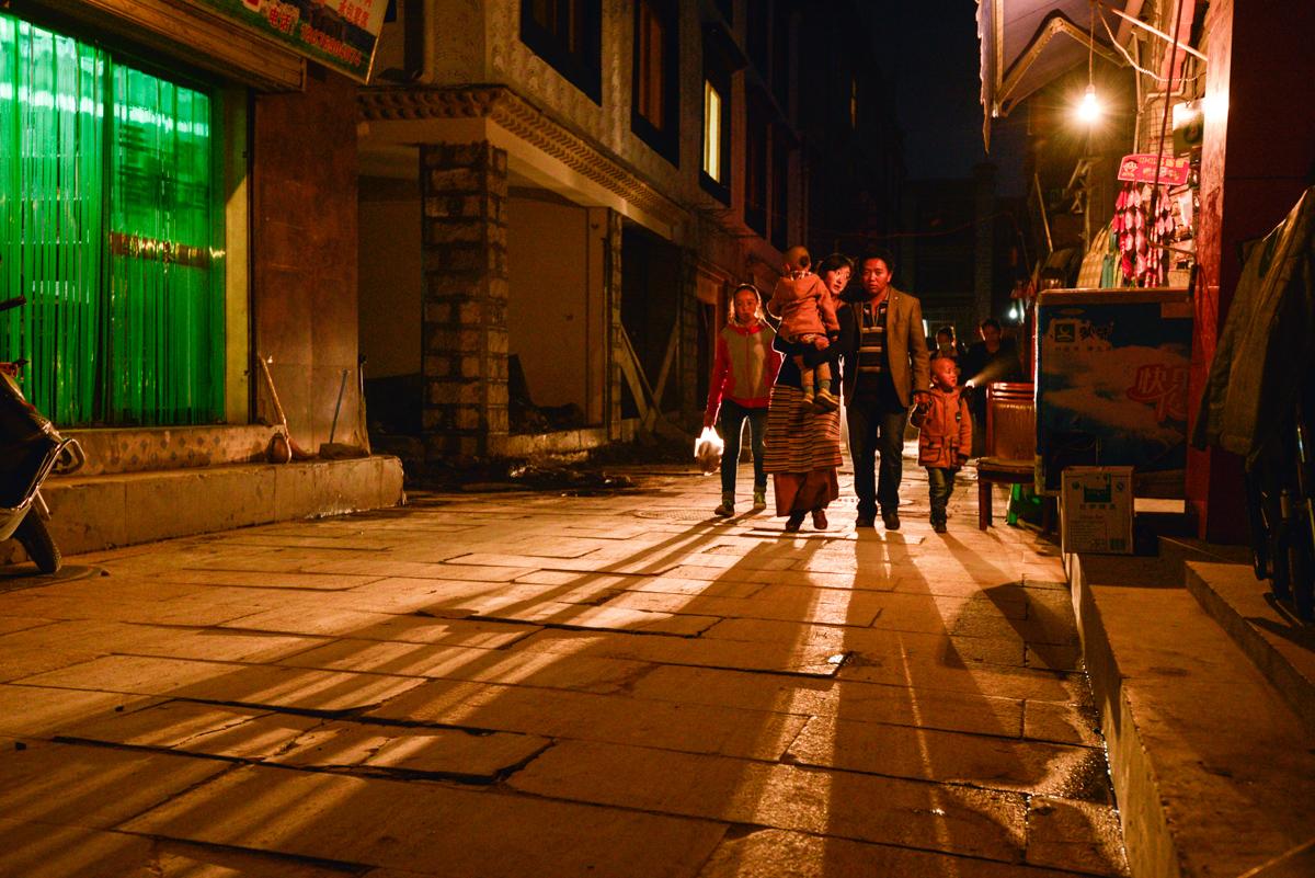 Street of Lhasa