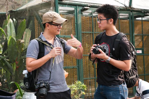 Monash University photography session