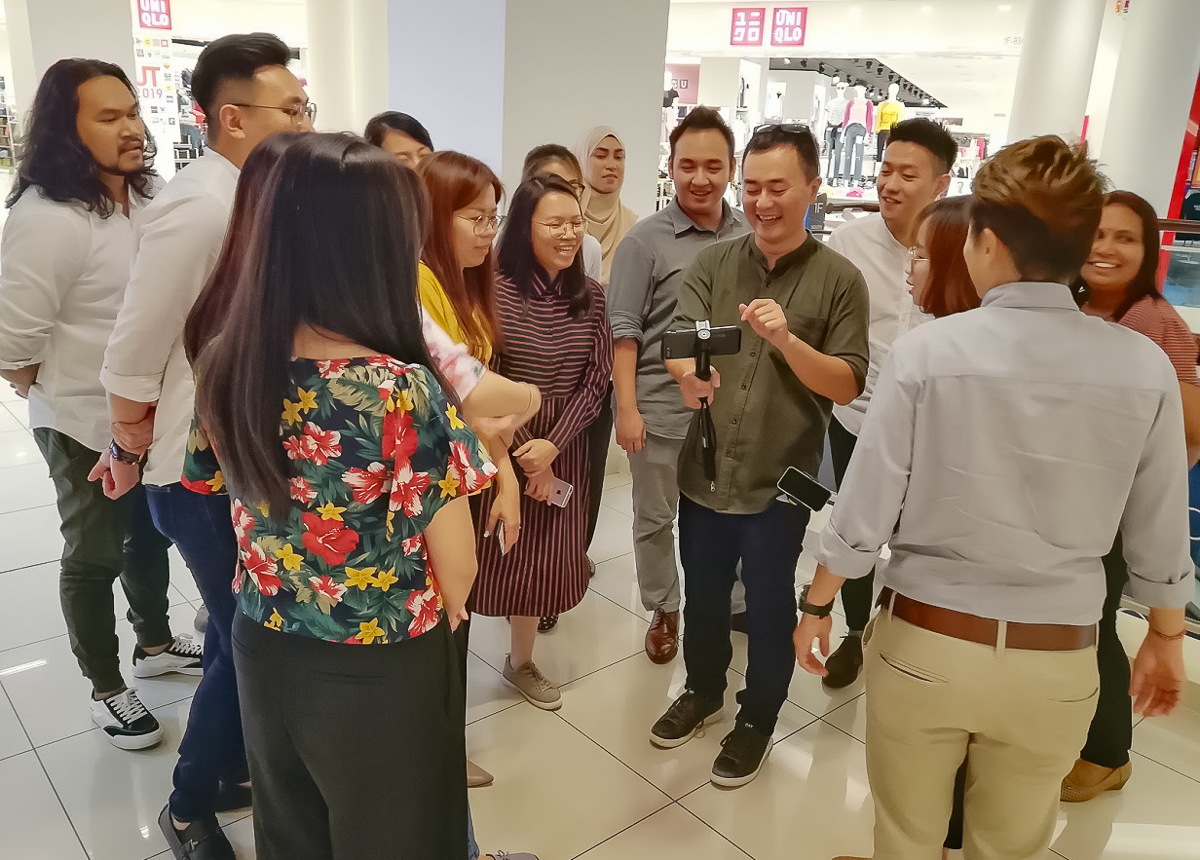 Smartphone Photography practical session
