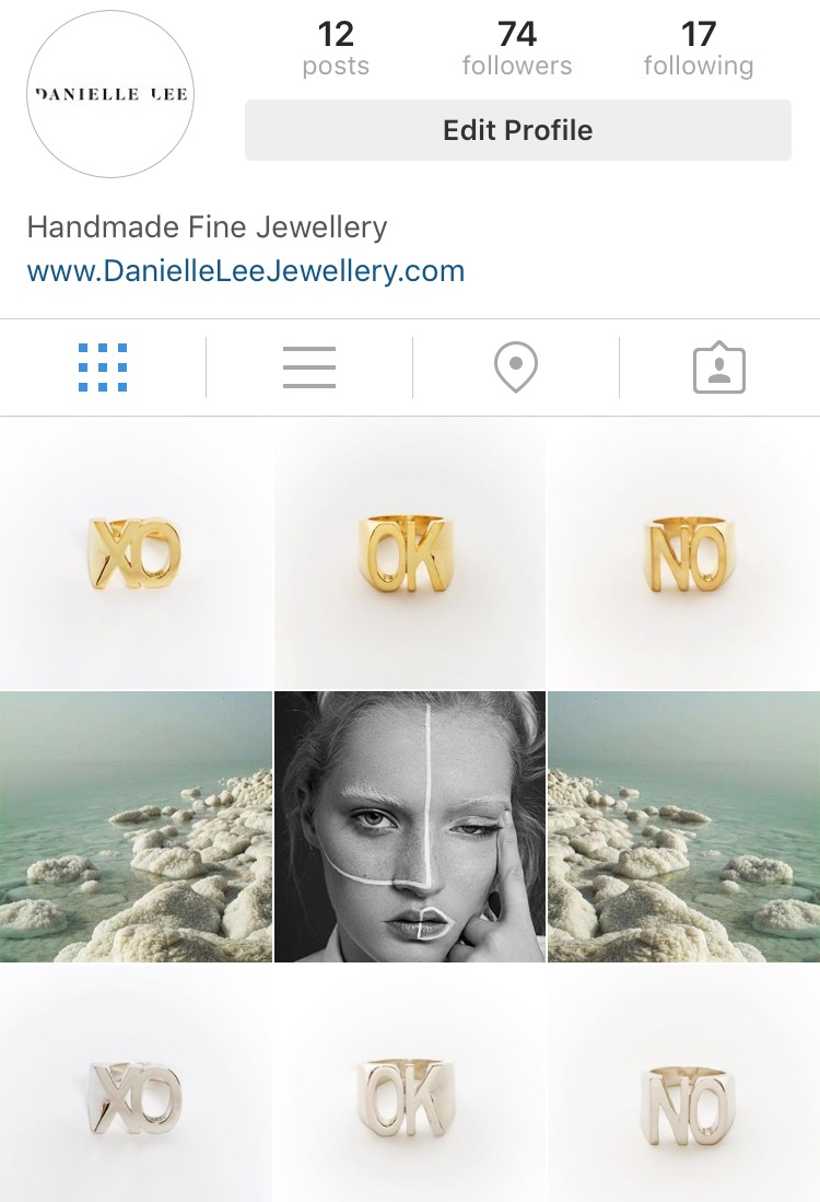 danielle lee jewellery instagram