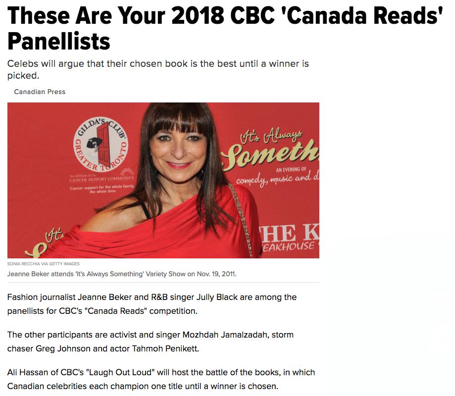 Huffington Post January 30, 2018