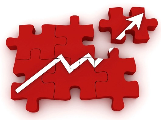 red puzzle growth chart