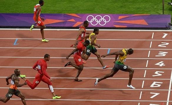 winning race