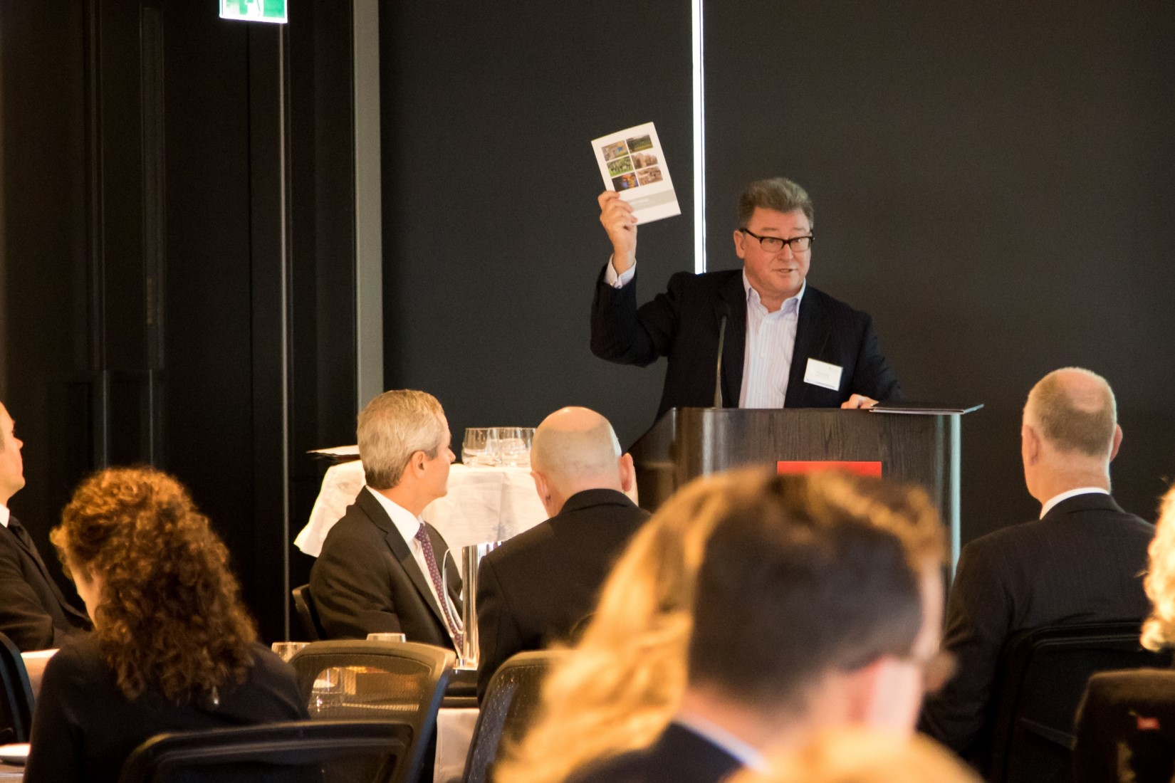 stephen kozicki presenting at the 11th gordian business thought leadership event