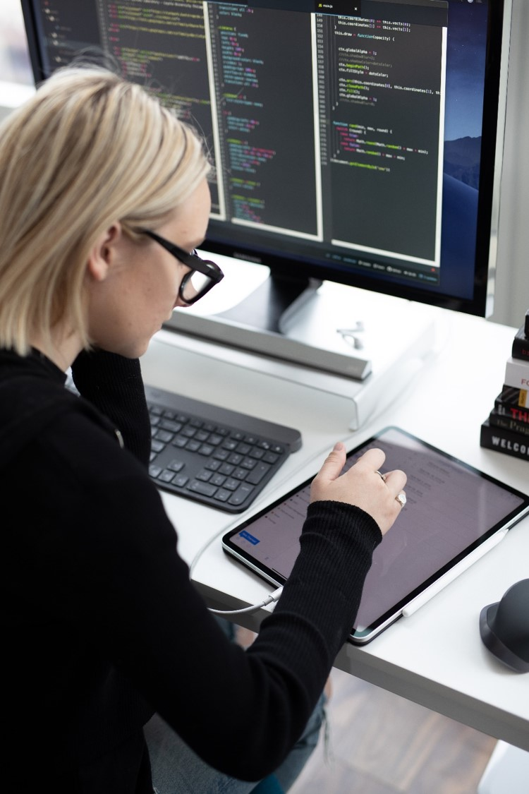 woman at computer compressed.jpg