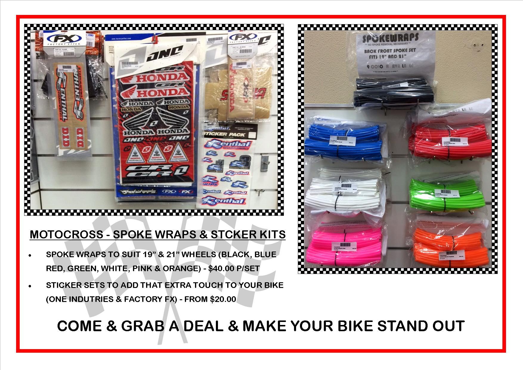 sticker kits & spoke wraps