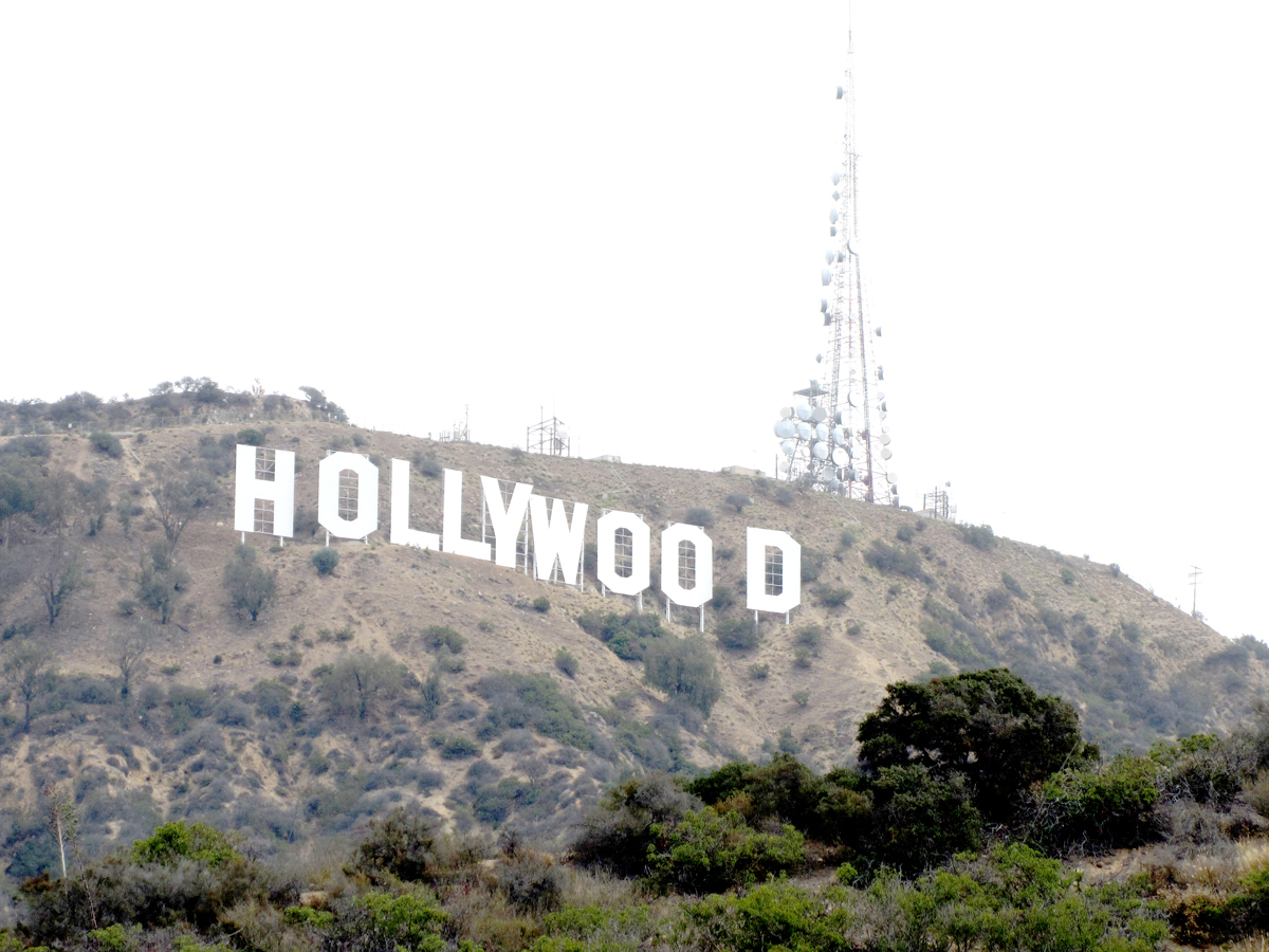 Hollywood sign by Grant K Young