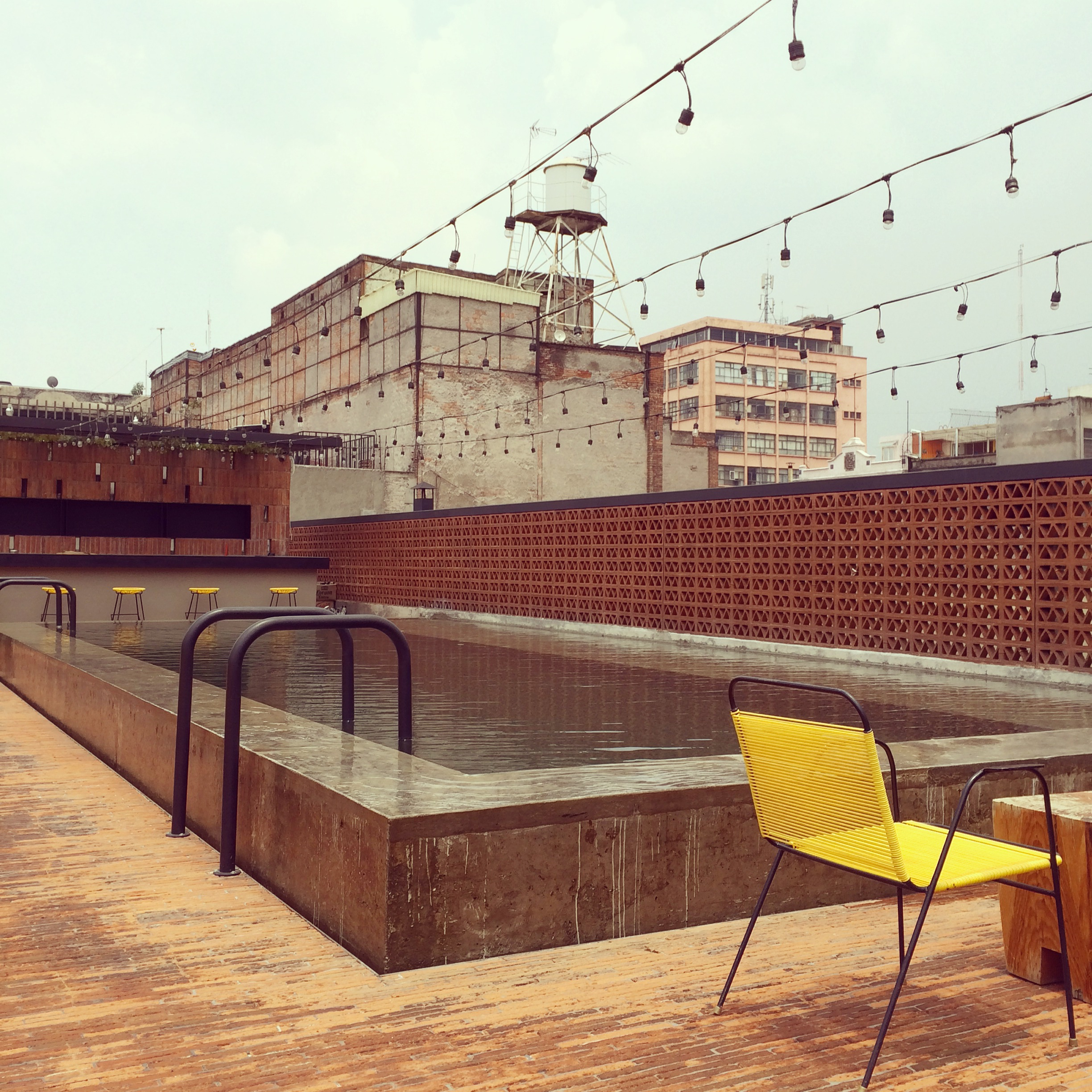 Industrial Rooftop pool