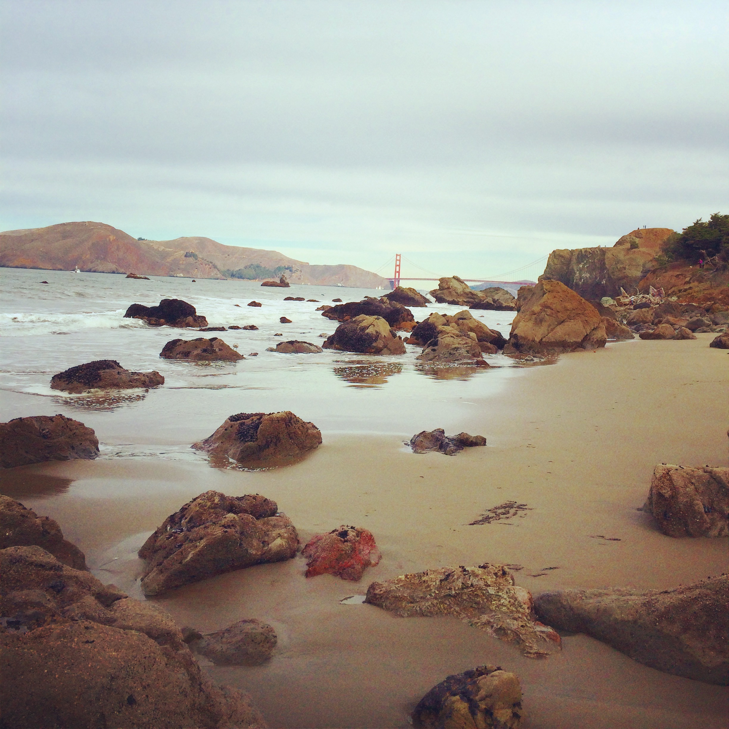Explore the hidden beaches of Lands End