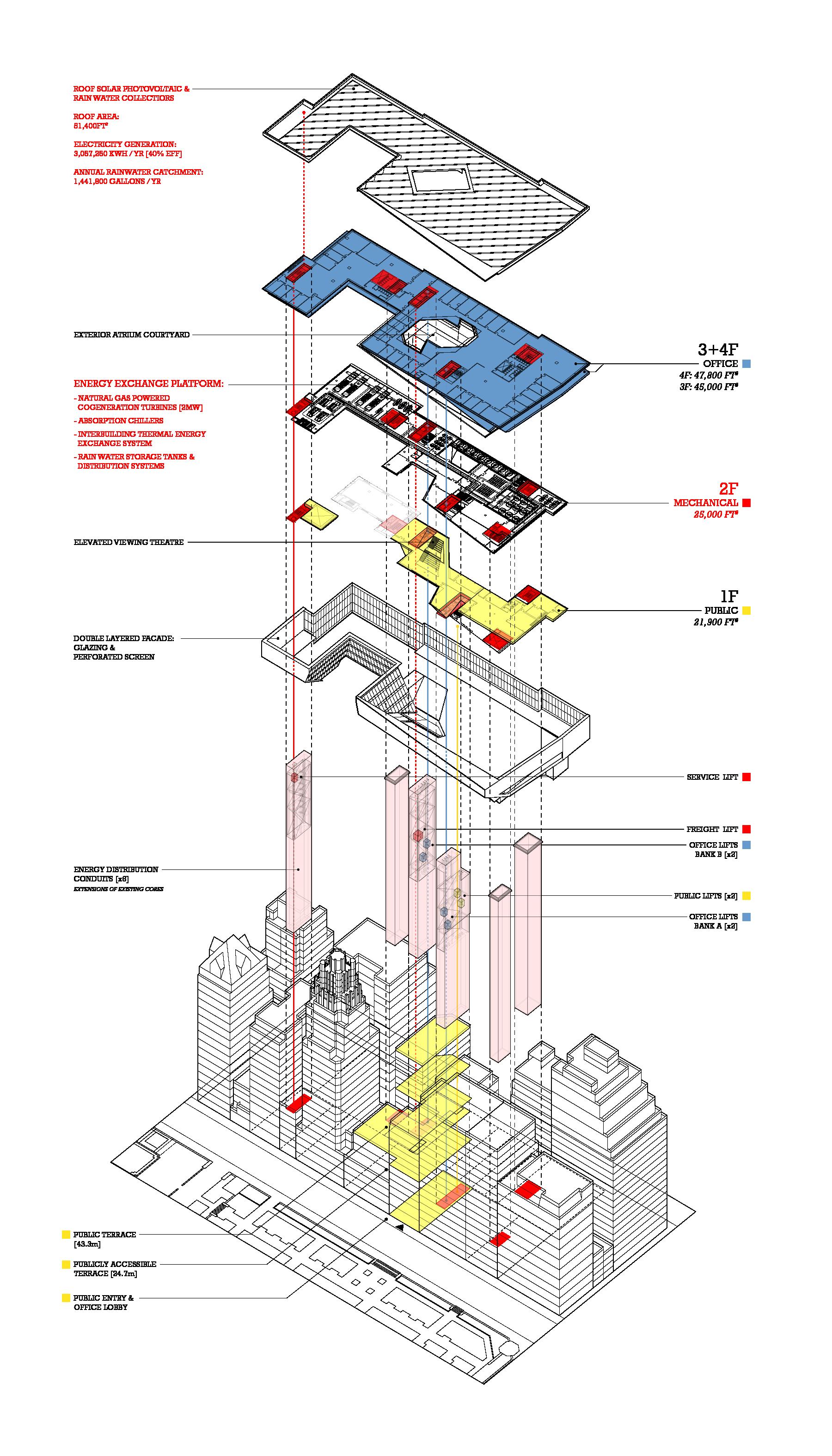 Building Component Axonometric