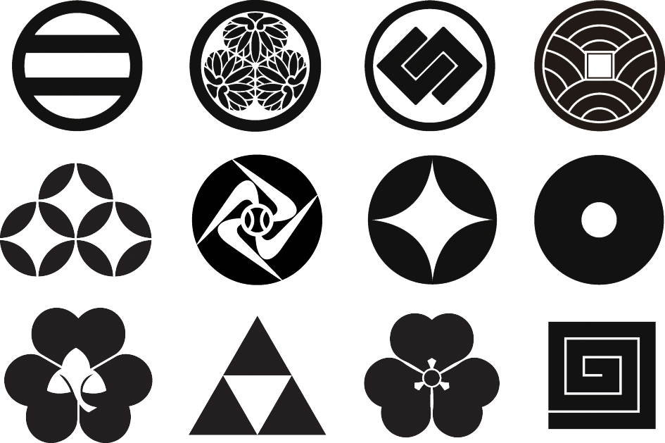 Mon, or Traditional Japanese Family Emblems