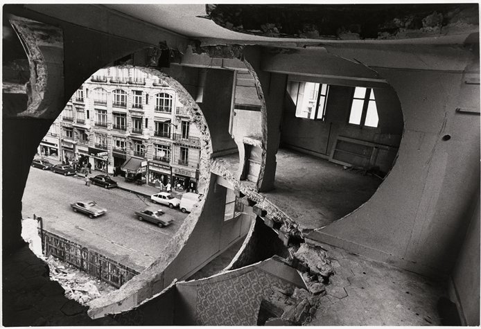 Circular Building Cuts, Gordon Matta Clark