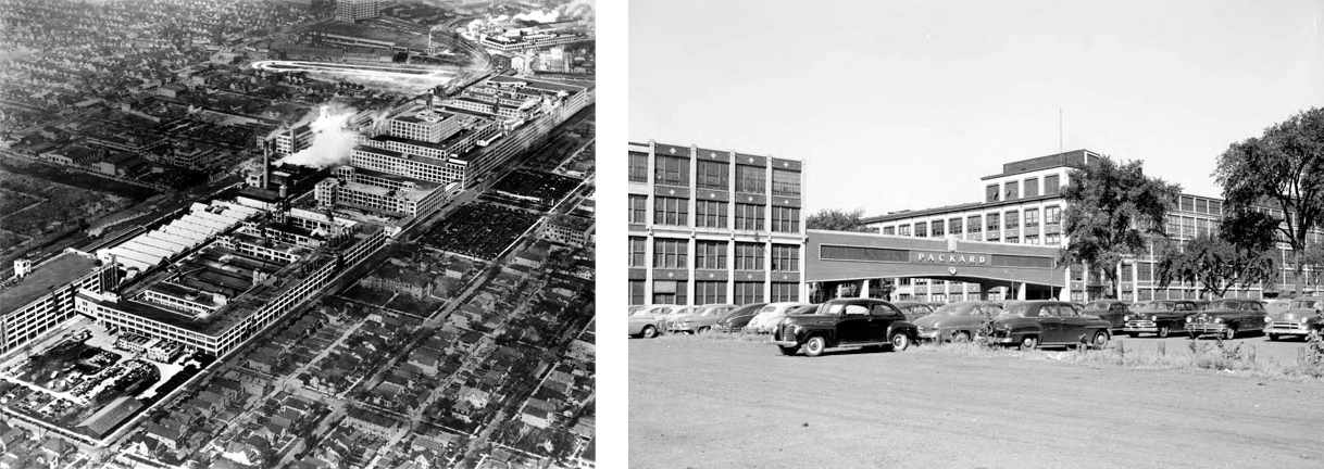 Historic Packard Automobile Plant