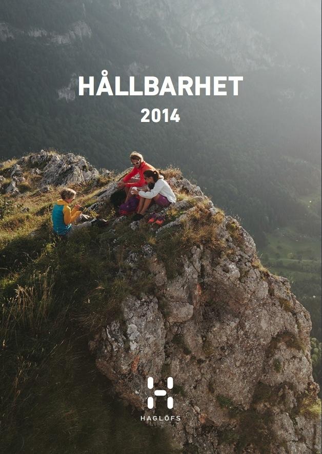Haglöfs hållbarhetsrapport 2014