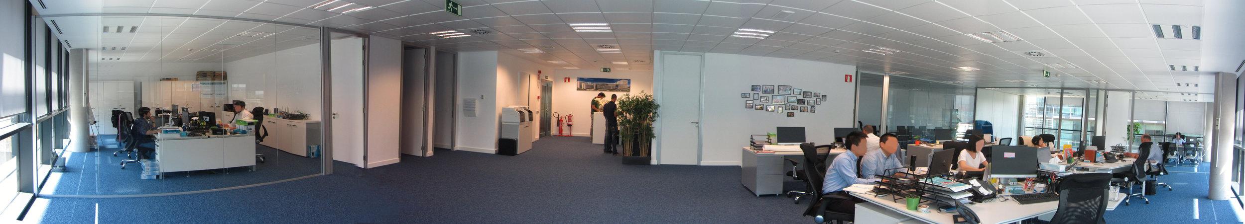 oficina interior panoramica