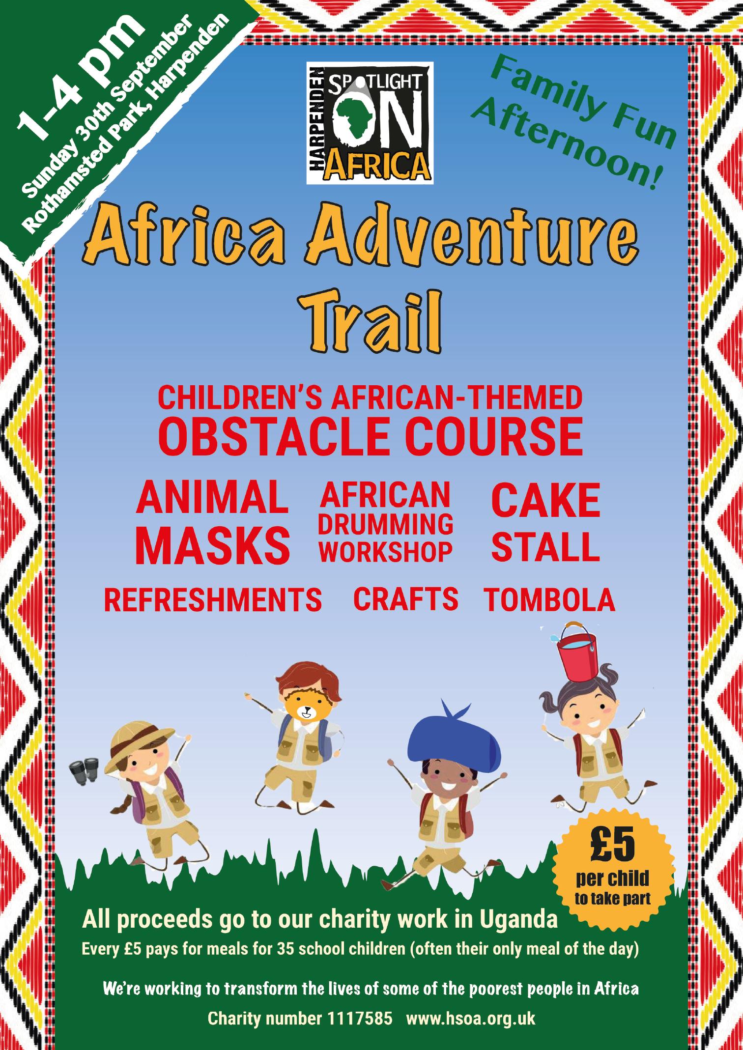 Africa Day Sunday 30th September