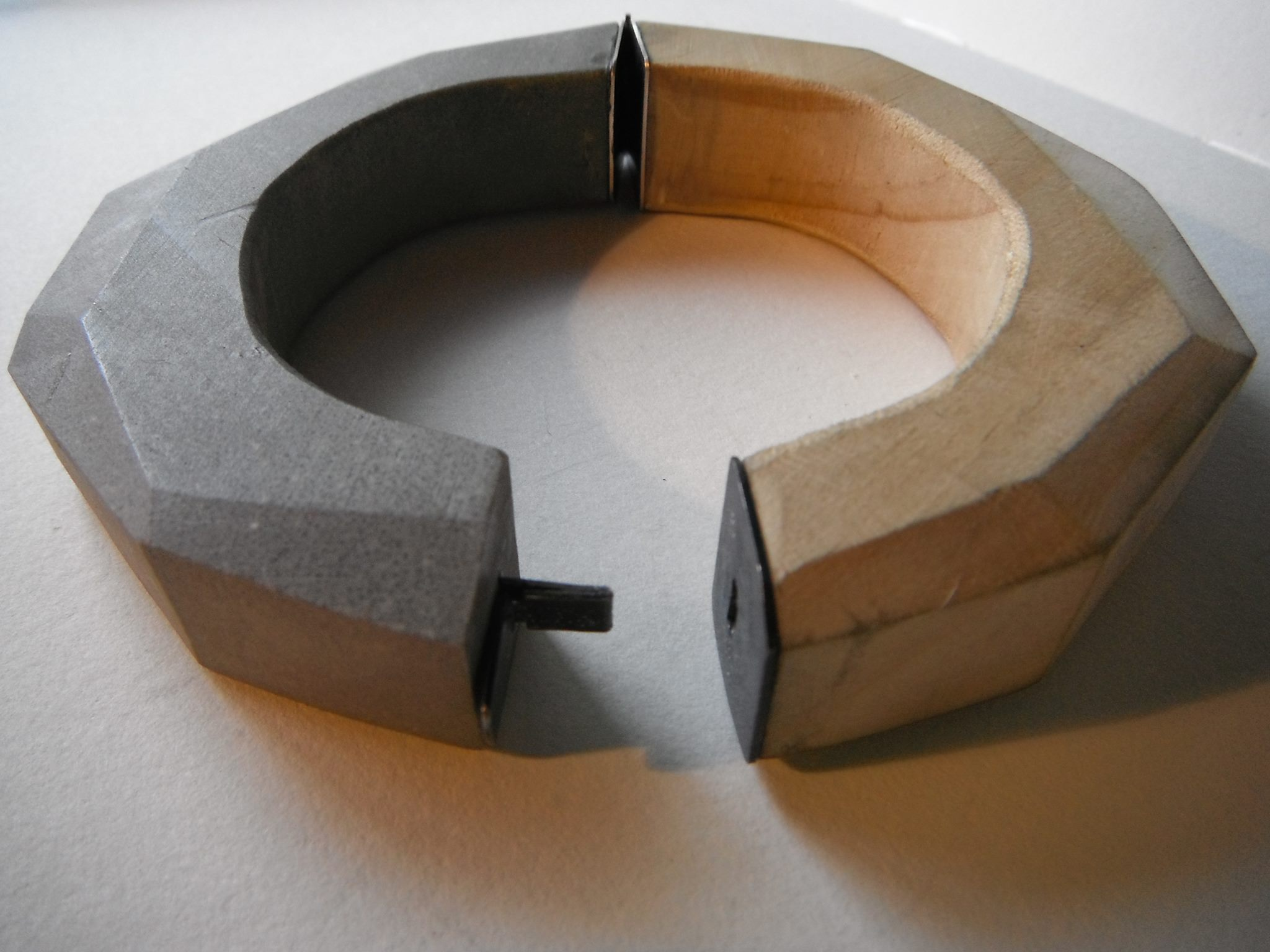 Abstract Concrete Bangle