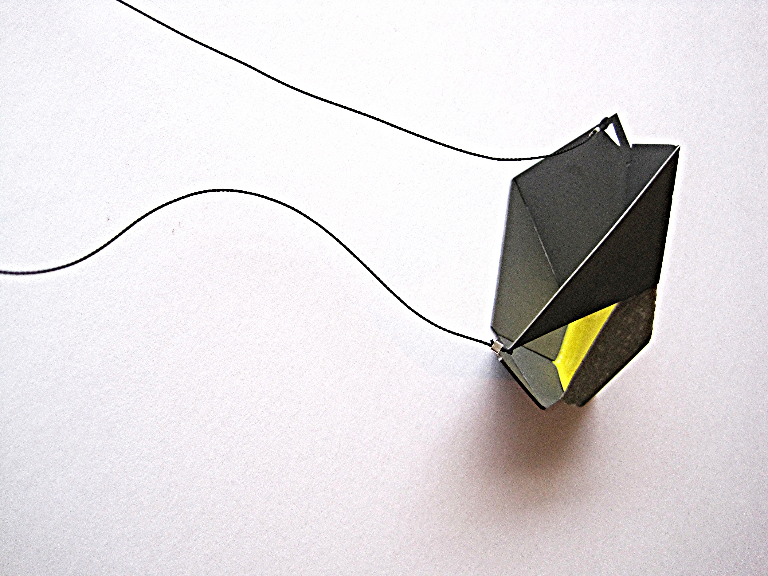 """Making the Abstract Concrete"" Pendant"