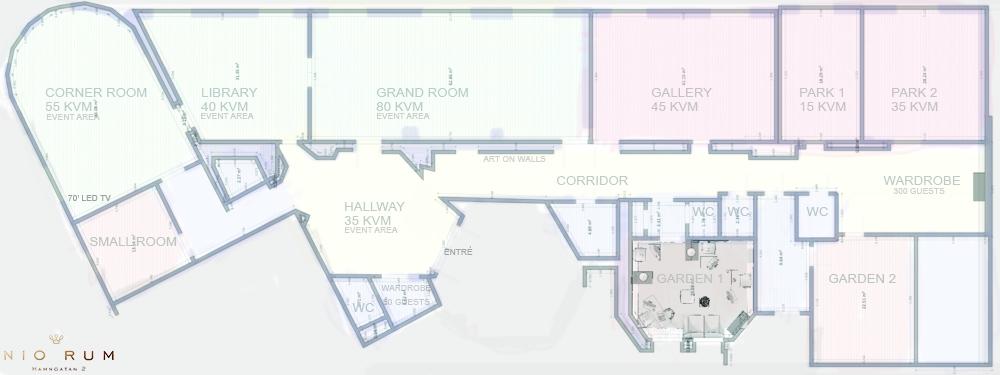 Floor plan Nio Rum
