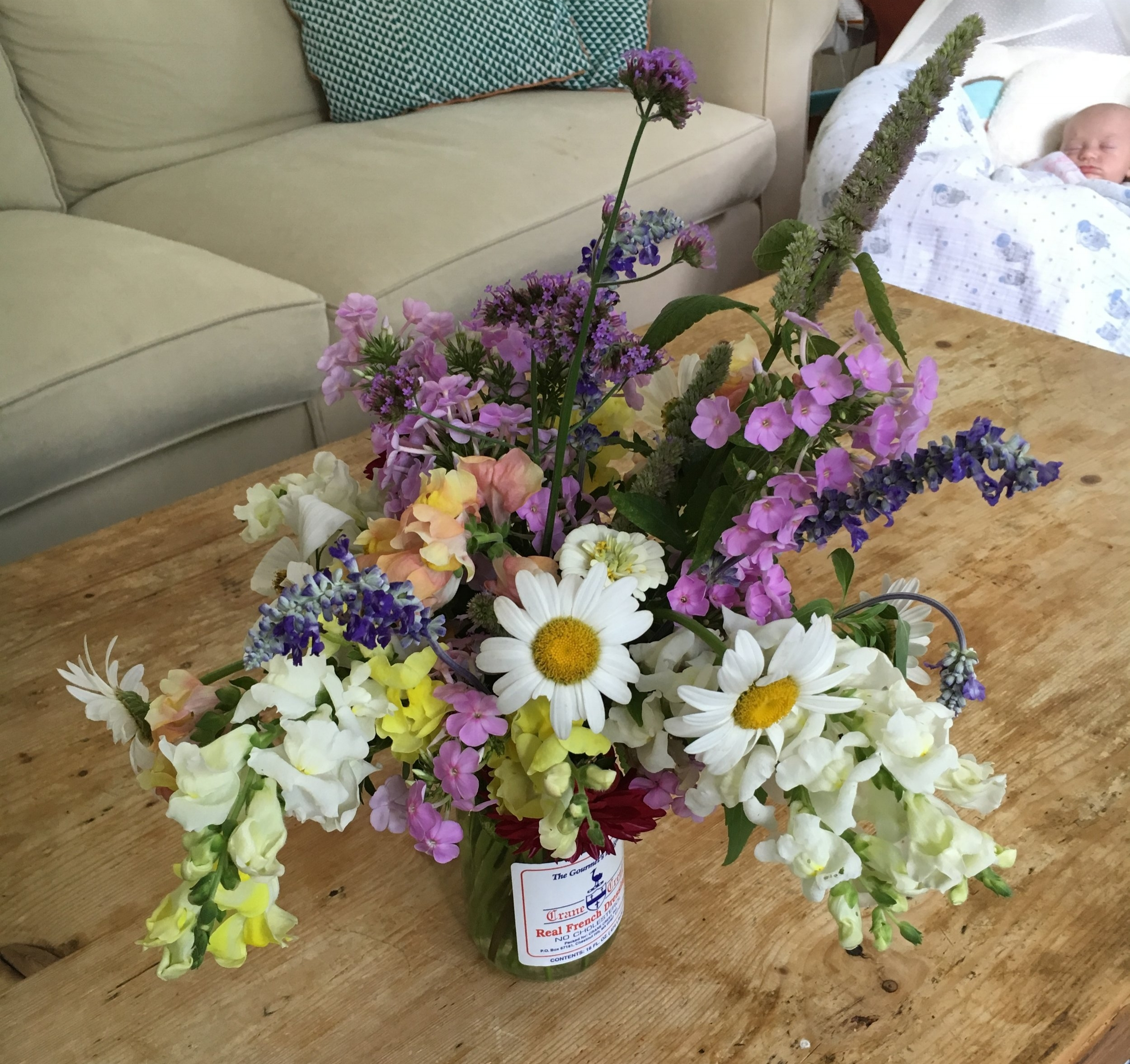 Cut Flowers from the MacVicars' Healthy Yard