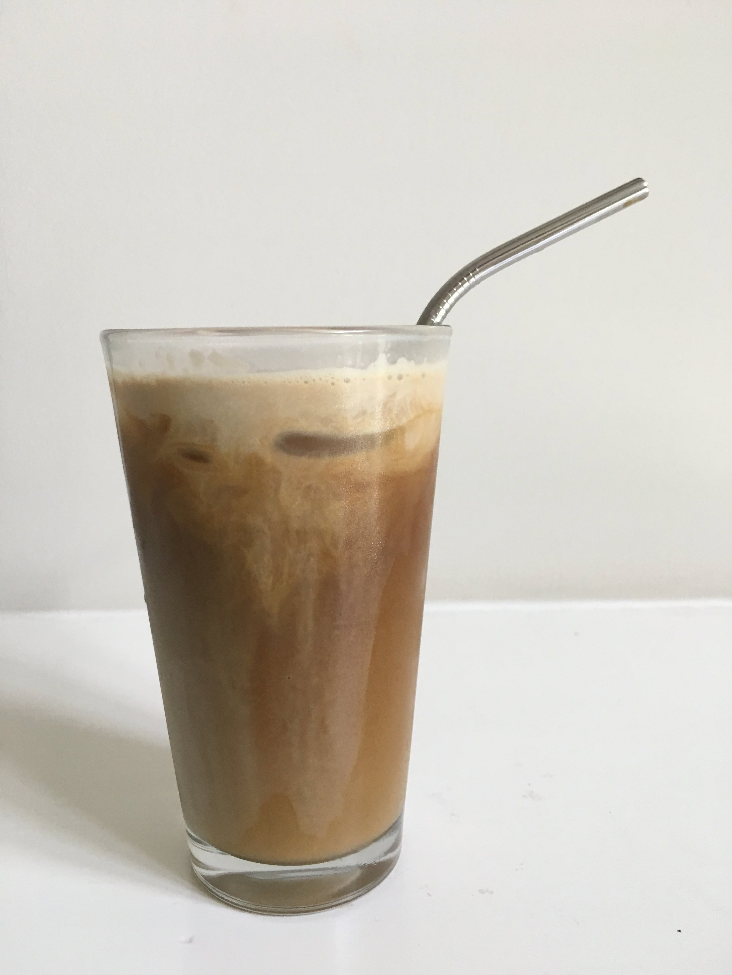 A metal straw is reusable and looks pretty good too!