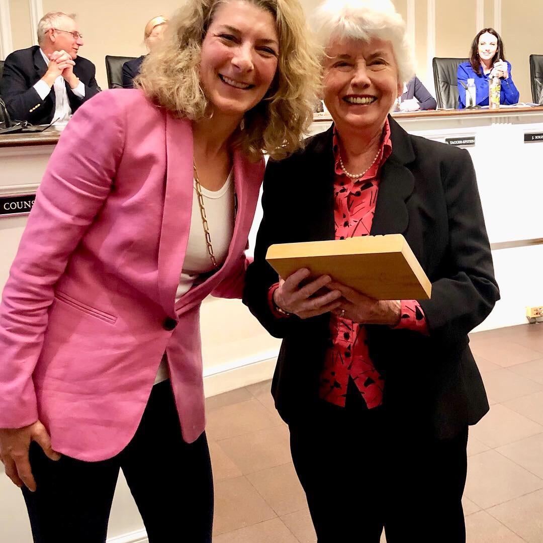 Winner of the Individual Category Award - Carolyn Cunningham